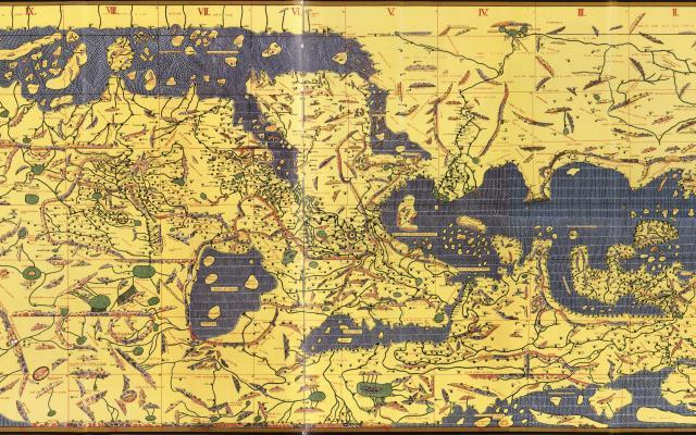 Tabularogeriana by Al-Idrisi