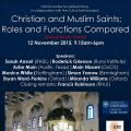 Christian and Muslim saints Nov 2015
