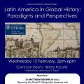 Latin America in global history Feb 2014