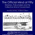 The official mind at fifty May 2014