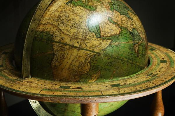 vienna  baroque world globe