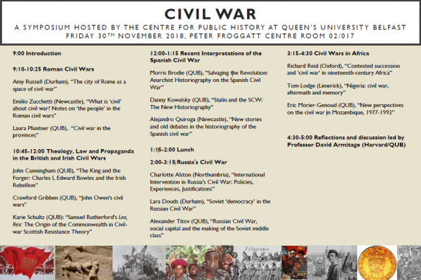 civil war symposium