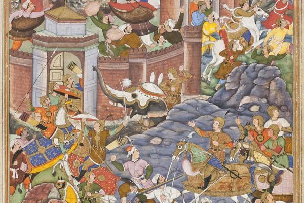 mughal campaign in gujarat