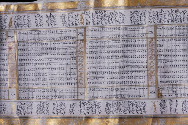 Turkish lunar calendar 1795
