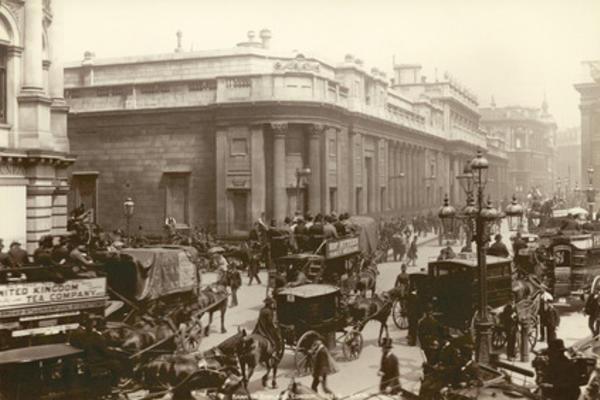 the bank of england london 1885 1895