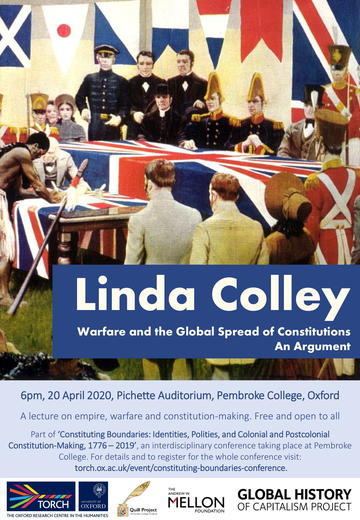 linda colley lecture poster 11
